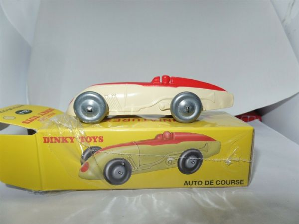 Atlas French Dinky 23A AUTO DE COURSE - CREAM